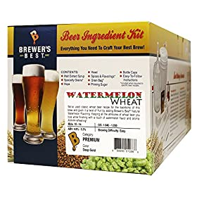 Brewer's Best Watermelon Wheat Beer Ingredient Kit Makes 5 Gallons