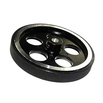 Amazon com: Flameer 12 inch(300mm) Perimeter Wheels - (Set