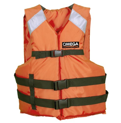 Universal Polyester Life Jacket Vest(Orange) - 3