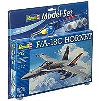 Revell-F/A-18C Hornet Kit Modelo, Multicolor (64894)