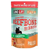 #10: LonoLife Low-Sodium Grass-Fed Beef Bone Broth Powder with 10g Protein, Stick Packs, 10 Count