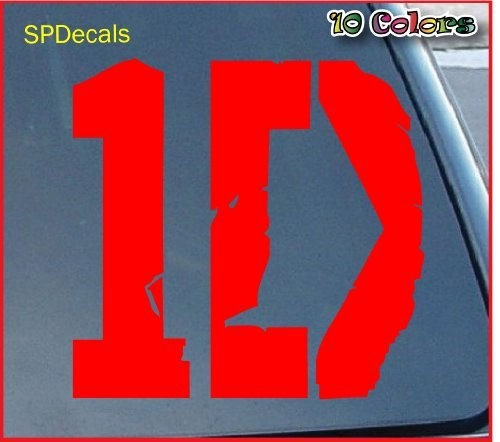 One Direction Logo Car Window Vinyl Decal Sticker 4