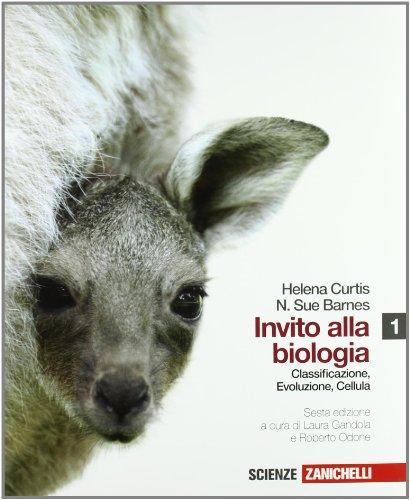 Invito alla biologia. Per le Scuole superiori. Con CD-ROM. Con espansione online: 1 por Helena Curtis,N. Sue Barnes