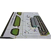 Gemini Jets GJAPS006 Airport Diorama Mat Extension Set of 2 PIECES 1:200 Scale
