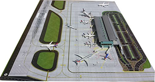 Gemini Jets GJAPS006 Airport Diorama Mat Extension Set of 2 PIECES 1:200 Scale by GeminiJets