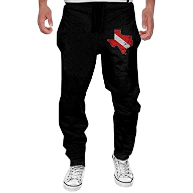 O-My Pantalones de chándal Divertidos para Hombre Imprimir Vintage ...