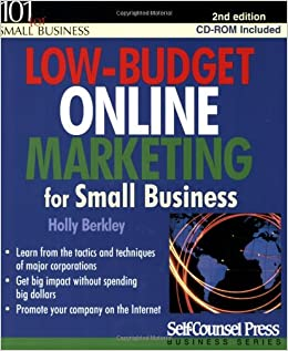 Book Low-budget Online Marketing for Small Business (101 for Small Business)
