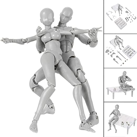 New Game Toy Mannequin Action Figure Model Stand Holder Art Limbs Body Drawing