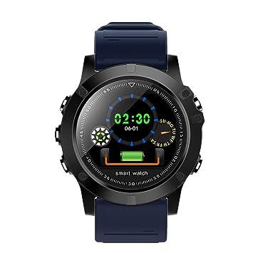 Cebbay Reloj Inteligente Pulsera Actividad Inteligente Impermeable IP67 Color Monitor de Frecuencia para iOS y Android: Amazon.es: Electrónica