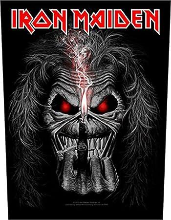 3 12 X 4 Iron Maiden Eddie Patch 9cm x 10cm
