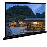 Movie Screens for Projectors Outdoor, Portable Projector Screen, 50 inch 4:3 Anti-Crease Waterproof Easy Install Floor…