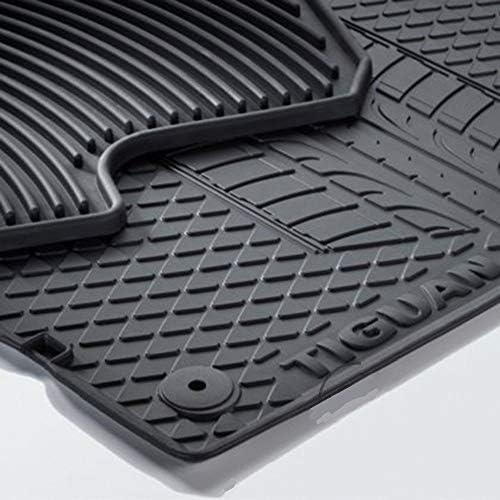 l/'inscription Original volkswagen tapis de sol en caoutchouc-set avant noir avec vw up