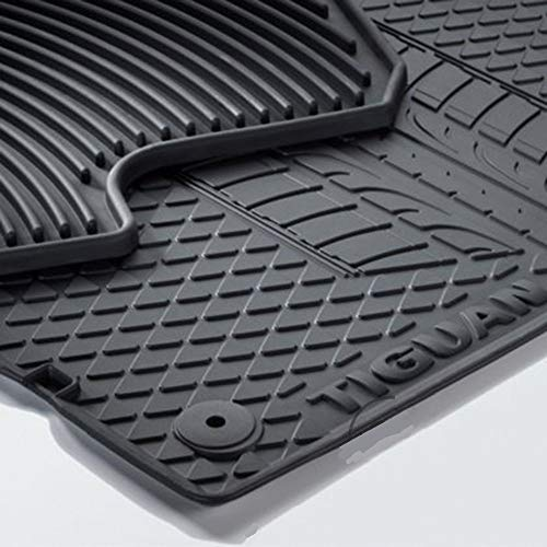 UKB4C Fully Tailored Rubber Car Mats for Scirocco 08 ON Set of 4 With 4 Clips