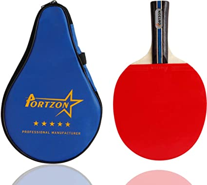 2Pcs Pro  Pong Paddle Advanced Training Table Tennis Racket With Ball