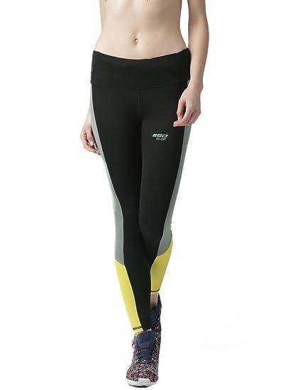 60b60187dceef 2Go Go Dry Women's Slim Training Tights (EL-WS7FT001Bold BlackS_Black_Small)