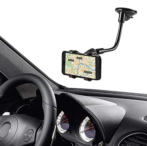 ba17b42d168ef6 Pelotek: Cell Phone Car Mount ✮ Car Cell Phone Holder ✮ Long Arm Clamp  Strong