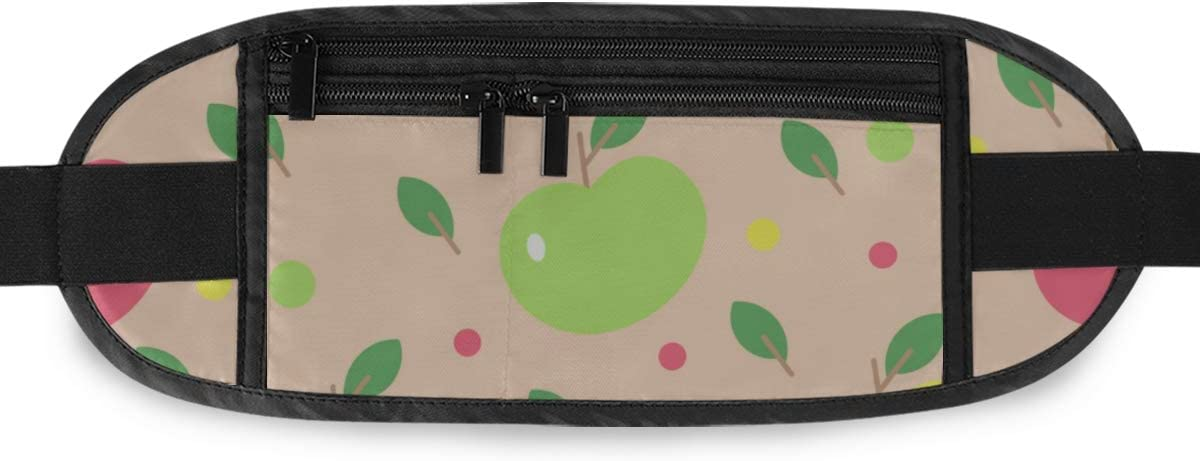 Pattern s Childish Design Running Lumbar Pack For Travel Outdoor Sports Walking Travel Waist Pack,travel Pocket With Adjustable Belt