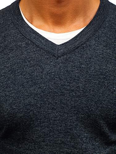 Tête Inséré Imprimé À Rond La Travers 5e5 h1816 Longues Hiver Gris Homme Pullover Sweatshirt Manches Le Street Bolf Style Foncé Col wFq0x0