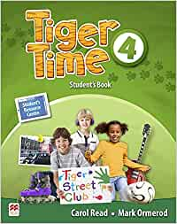 Tiger Time Level 4 Student's Book Pack: Amazon.es: Carol
