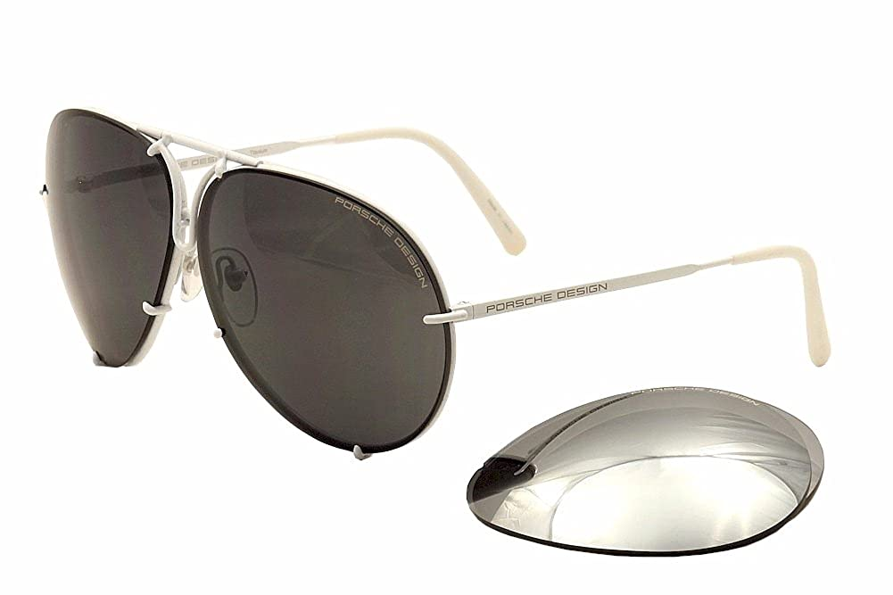 New Men Sunglasses Porsche Design P8478 P/V343  ホワイト B01BRWS95C