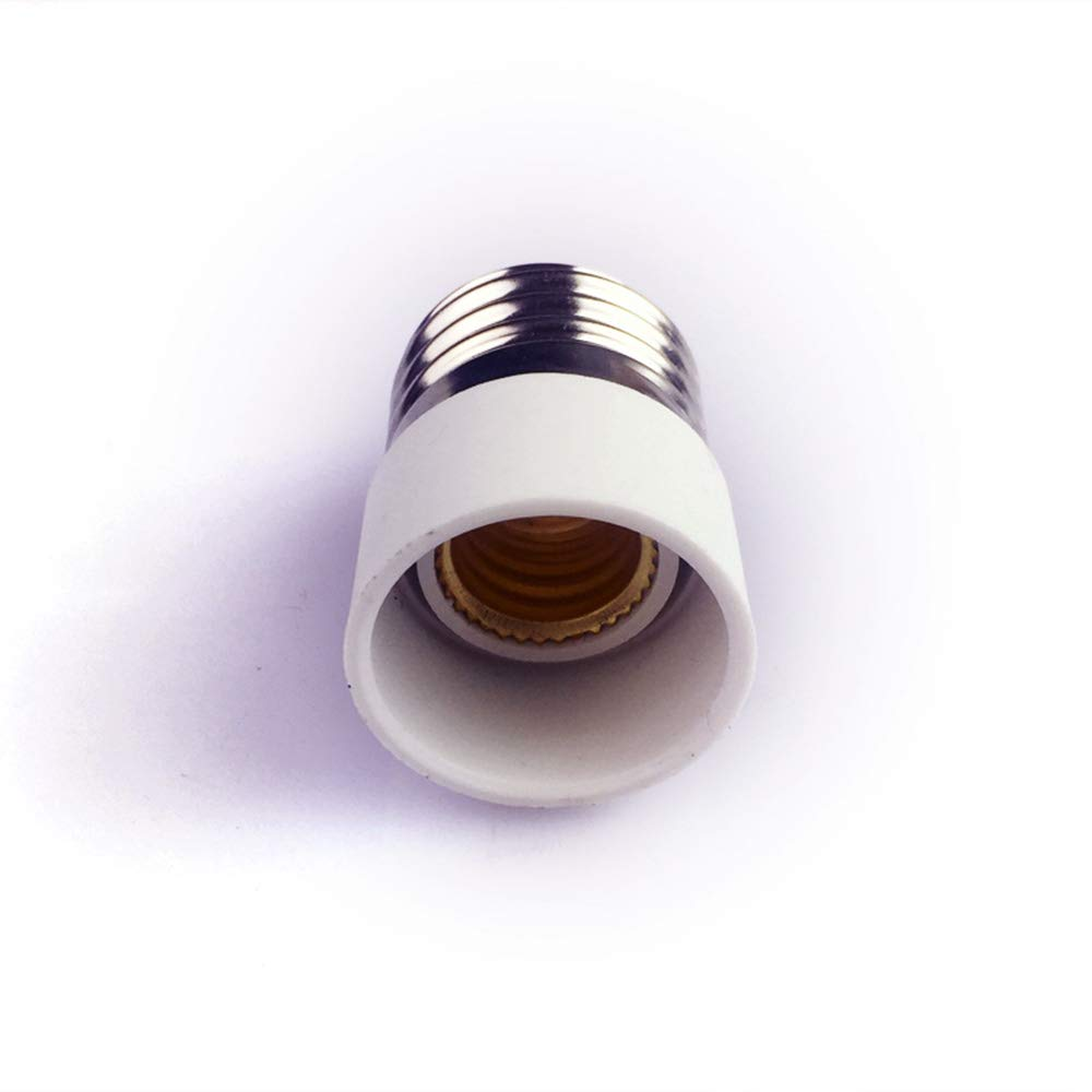 inherited 10pcs Adaptador Conversor E27 a E14,Adaptador de Bombilla Portal/ámpara Convertidor Convertidor de casquillo para portal/ámparas LED hal/ógeno y bajo consumo