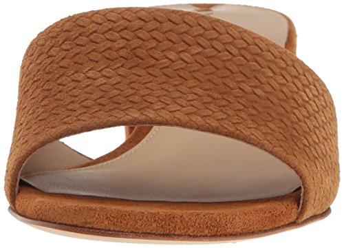 Gisel Women Sandal Suede Tawny Slide Spiga Via 8fzqSwn