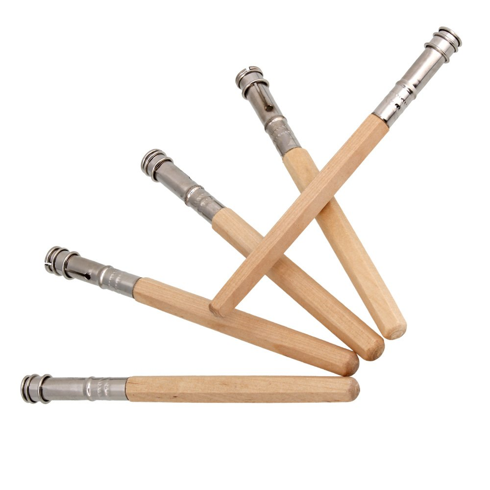 RDEXP Odd Head Pencil Lengthening Lengthener Extender Holder Pack of 5
