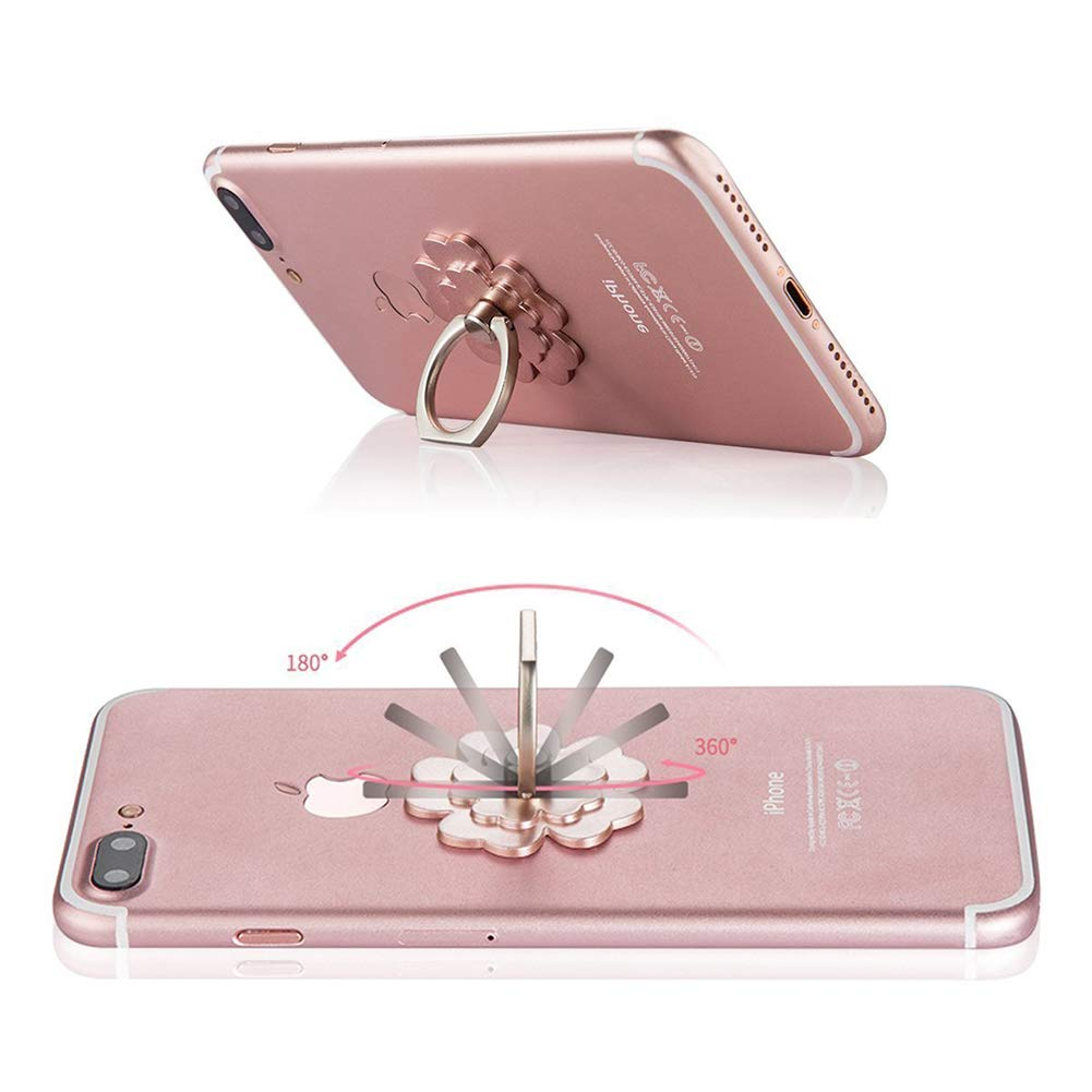 Phone Ring Stand Holder Flower Finger Ring Grip Car Mount 360/°Rotation Kickstand Compatible for iPhone Xs X 8 7 7s 6 6s Samsung Galaxy S8 S7 S6 LG HTC Google Nexus 4 Packs Ronger2000 4351489294