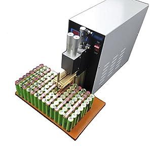 220V Microcomputer Dual Pulse Pneumatic Battery Spot Welder Battery