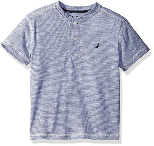 Nautica Boys Solid Henley Shirt