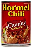Hormel Chunky Chili No Beans, 15-Ounce (Pack of 6)