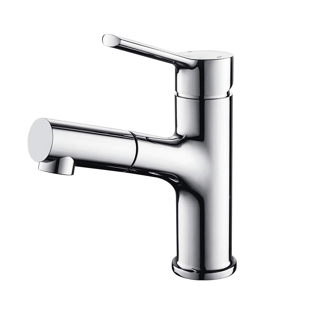 Lonheo Waschtischarmatur Wasserhahn Bad Armatur herausziehbarer