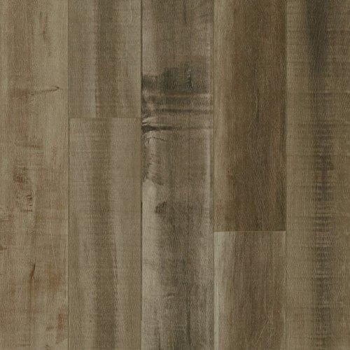 Armstrong Pryzm Exotic Woodgrain Reclaimed Gray Hybrid Flooring   Pad Pc009 Sample