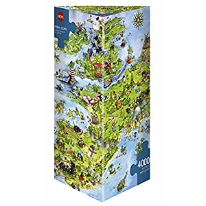 Heye Dpz4000 Degano United Dragons Puzzle Triangolo 8854