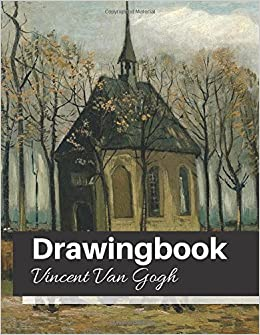 drawingbook vincent van gogh drawingbookdrawing book for adultsall blank sketchbookvan gogh notebook volume 39