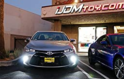 iJDMTOY (2) High Power 42-SMD LED Daytime Running Lights/Turn Signal Lights Conversion Kit For 2015-up Toyota Camry LE SE or Special Edition