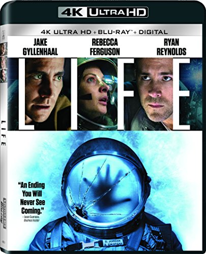 4K Blu-ray : Life (With Blu-Ray, Ultraviolet Digital Copy, 4K Mastering, Widescreen, Dubbed)