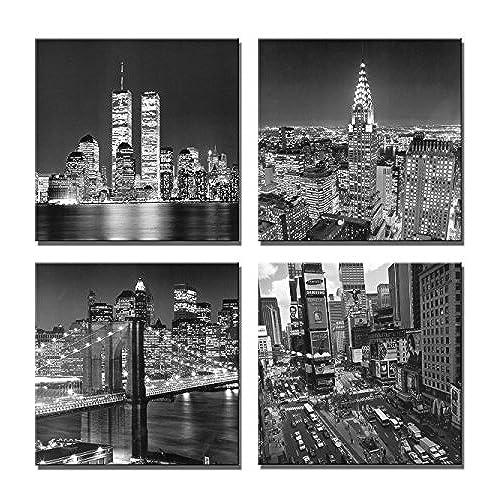 New York City Canvas Wall Art: Amazon.com