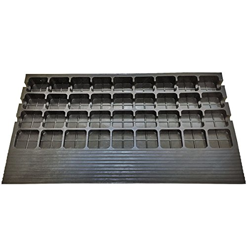 2.5'' Rubber Threshold Ramp with 3 Channels Cord Cover by Electriduct (Image #2)