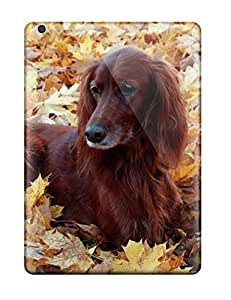 Hot Snap-on Dog Lying In The Foliage Hard Cover Case/ Protective Case For Ipad Air