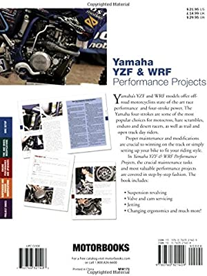 Yamaha YZF & WRF Performance Projects (Motorbooks Workshop): Ken