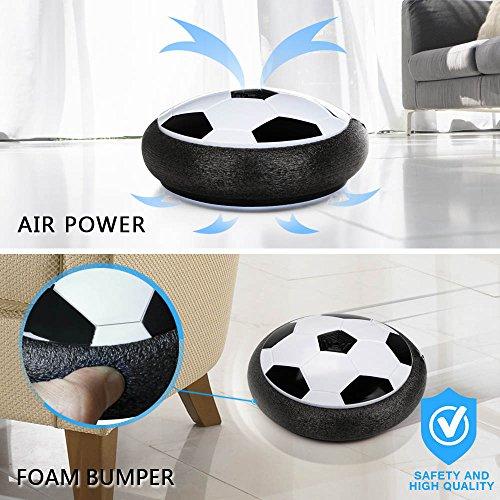 Hover Ball Toy : Bonwayer kids sports toys soccer football goal set hover
