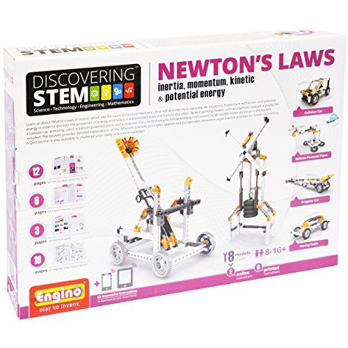 Engino Discovering STEM Newton's Laws Inertia, Momentum, Kinetic & Potential