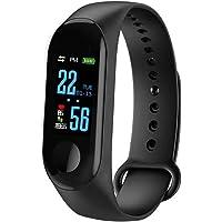 Leoboone M3 Smart Armband Kleur Scherm IP68 Waterdichte Hartslag Bloeddruk Monitor Vervangbaar Horloge Voor Android IOS