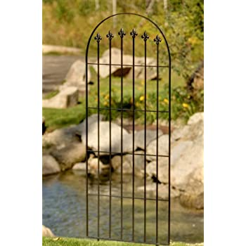 Amazon.com : H Potter Trellis Garden Wrought Iron Weather Resistant ...