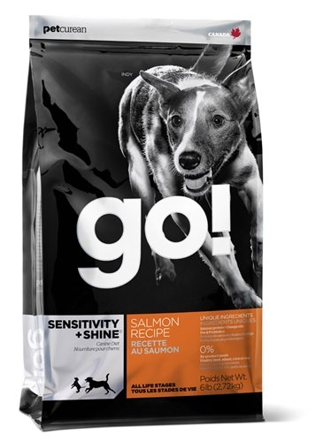 Petcurean 815260000598 Go! Sensitivity and Shine Salmon Dog 6-Pound