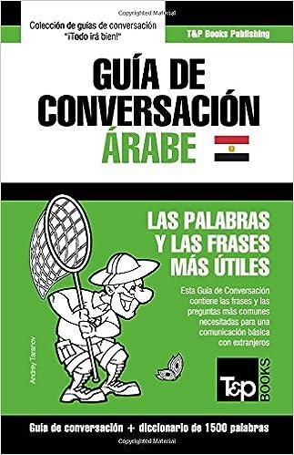 Guía De Conversación Español árabe Egipcio Y Diccionario