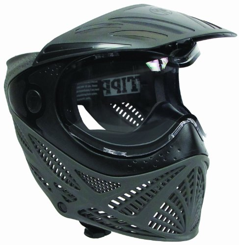 Tippmann Intrepid Goggle, Black/Gray (Empire Thermal Vents Goggle Lens)