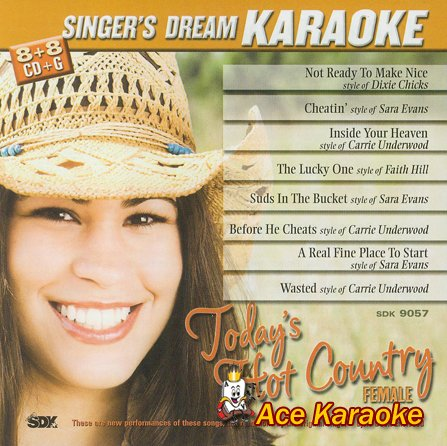 Today's Hot Country Female - Karaoke CDG ()