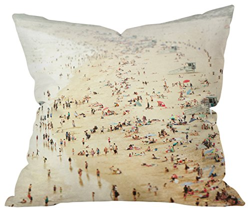 Deny Designs 57069-othrp16 Bree Madden in The Crowd Indoor Throw Pillow, 16 x 16, In The
